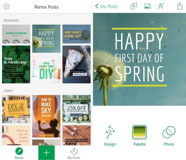 Designer Apps -bb- Adobe Post