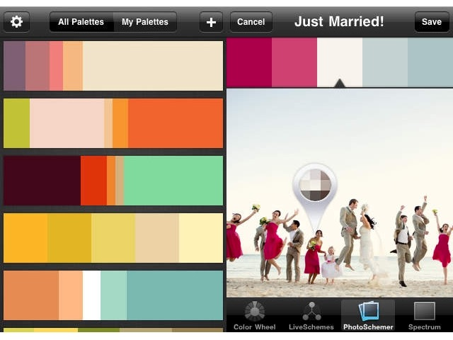 Designer Apps -bb- Color Schemer