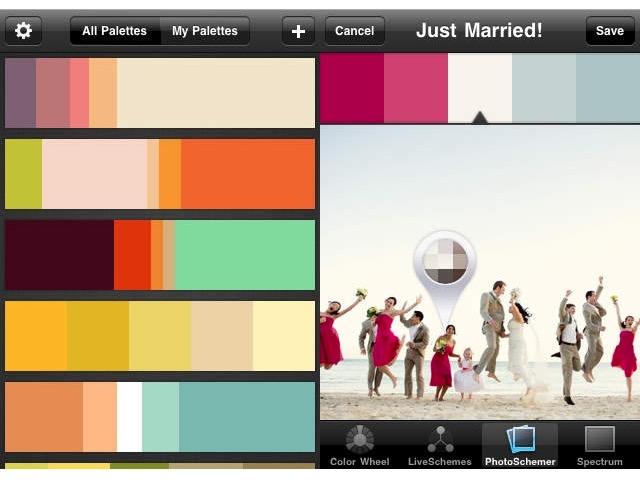 Designer Apps -bb- Color Schemer
