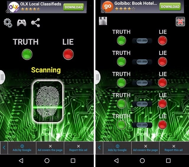 Lie Detector Android App