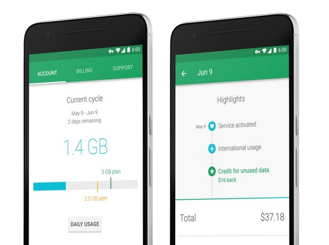 Project Fi Android App