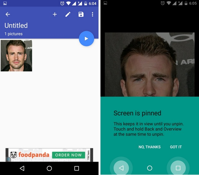 Stop Swipin Android App