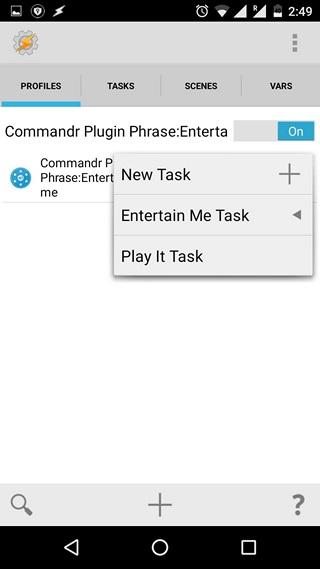 Tasker set task name