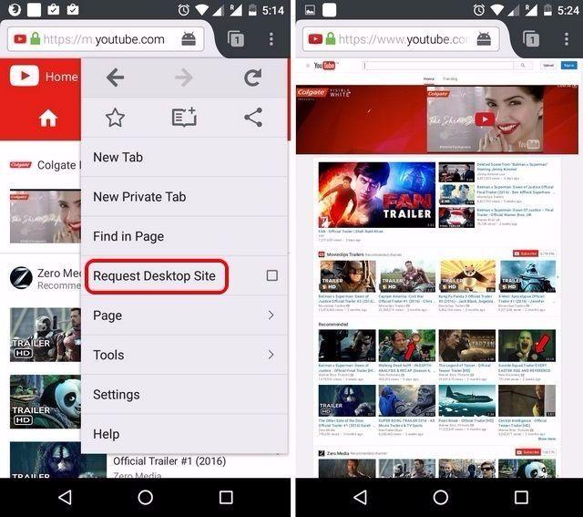 YouTube Desktop-Modus Firefox-komprimiert (2)