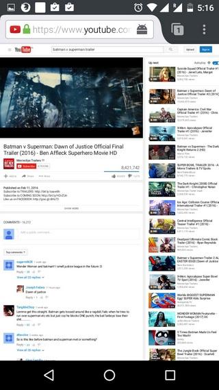 YouTube-Video im Hintergrund mit Firefox