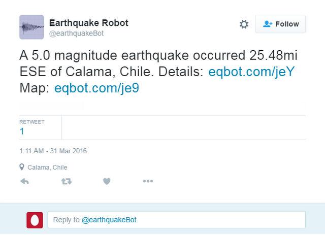 earthquake bot