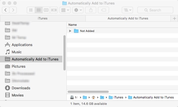 iTunes Tips -bb- Automatically Add