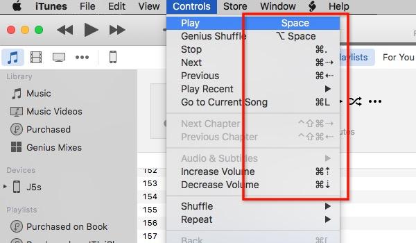 iTunes Tips -bb- Shortcut