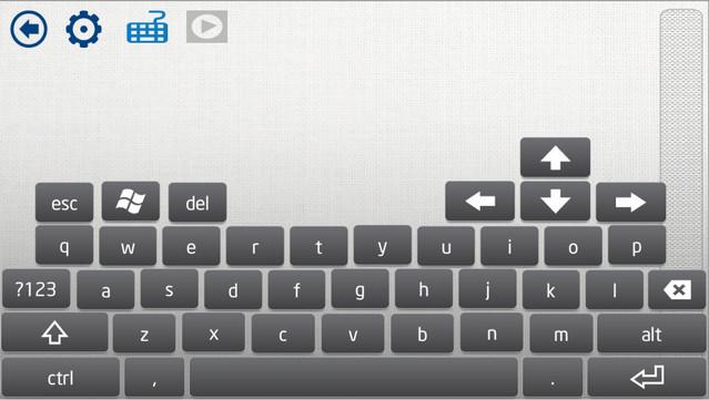 intel remote keyboard keyboard