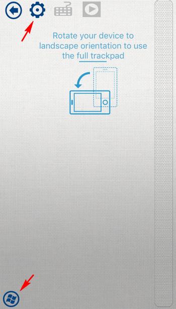 intel remote keyboard mousepad