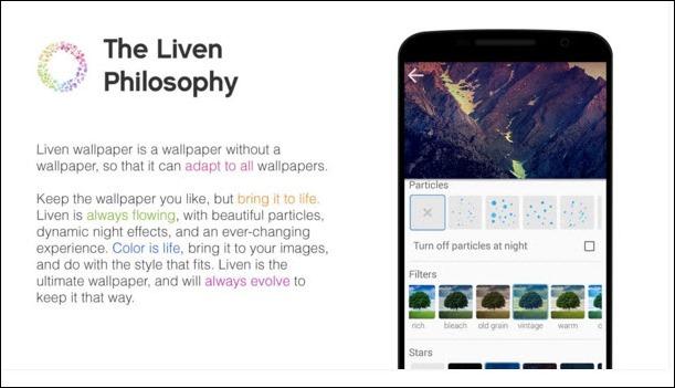liven wallpaper app