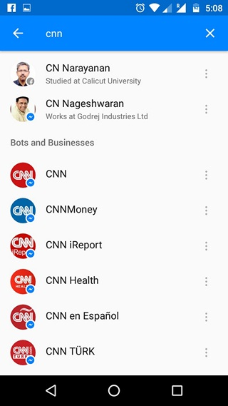Facebook Messenger Bots and Businesses