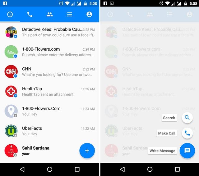 Facebook Messenger Bots search
