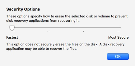 Format USB -bb- Security Options
