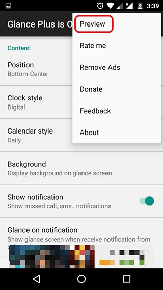 Glance Plus Preview