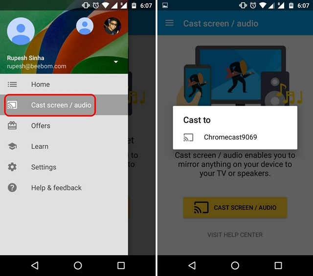 How to Stream Kodi to Chromecast From Android or PC | Beebom