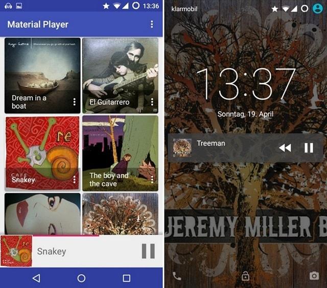 Material Audiobook Player