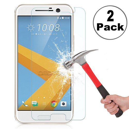 OMotion HTC 10 Tempered Glass Screen Protector