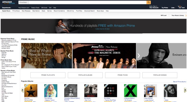 Spotify -bb- Amazon Music
