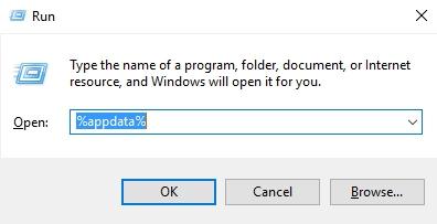 Windows 10 App-Daten ausführen