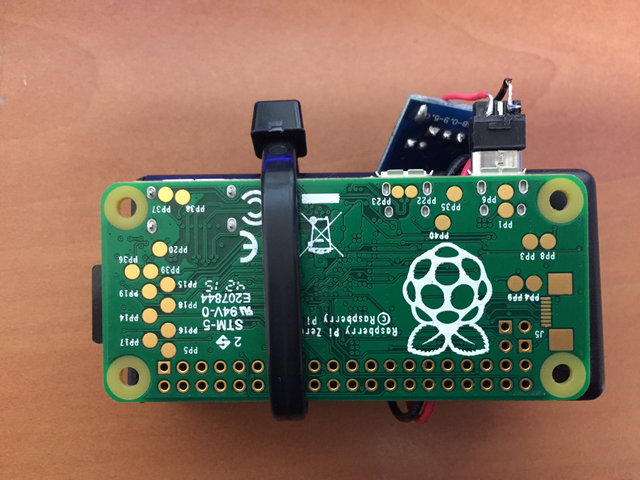 battery aa pi zero