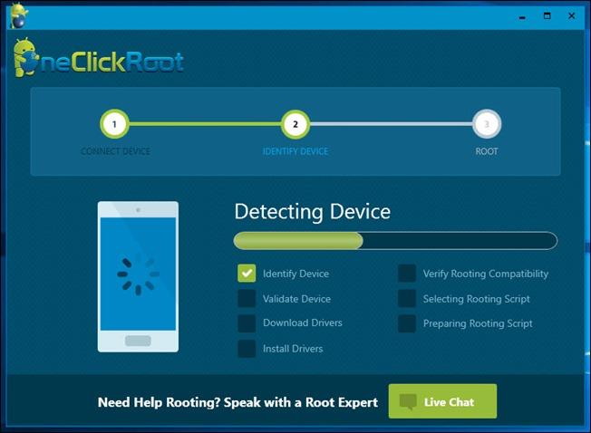 detecting device