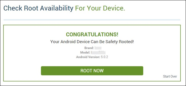 device can be rooted