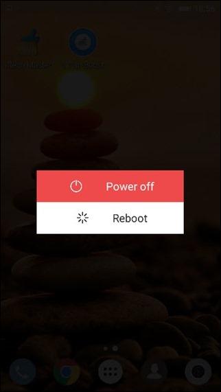 reboot phone