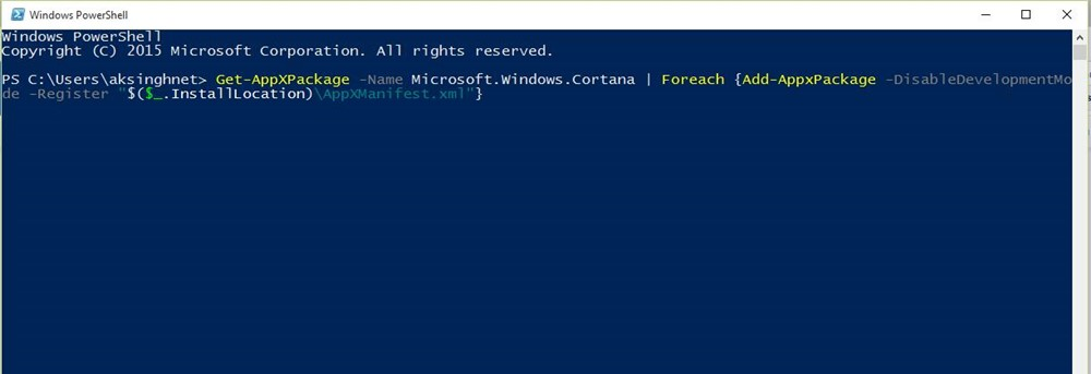 Windows Search Can't Find any Applications