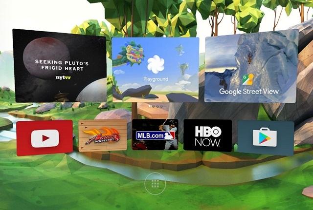 Daydream VR platform