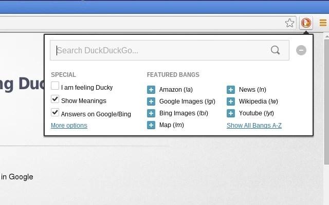 DuckDuckGo-Extension