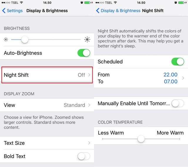 Eye Strain -bb- Night Shift