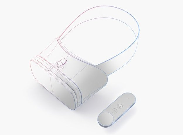 Google reference VR headset Daydream