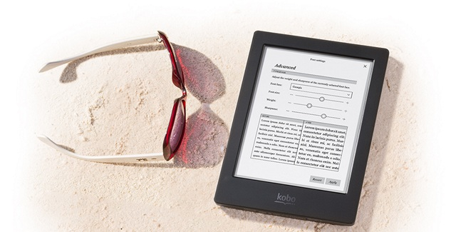 Kobo Aura H20 Kindle Alternative