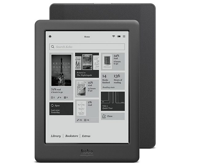 Kobo Touch 2.0 Kindle Alternative