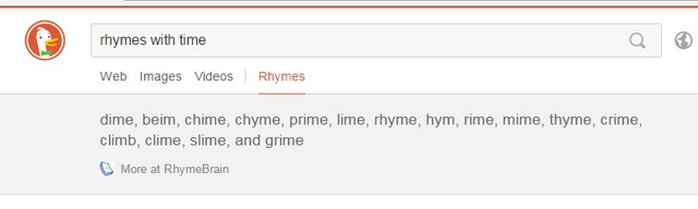 Rhyming-words