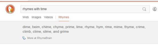 Rhyming-words