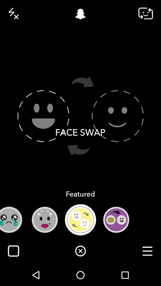 Snapchat Face Swap Real Time Lens