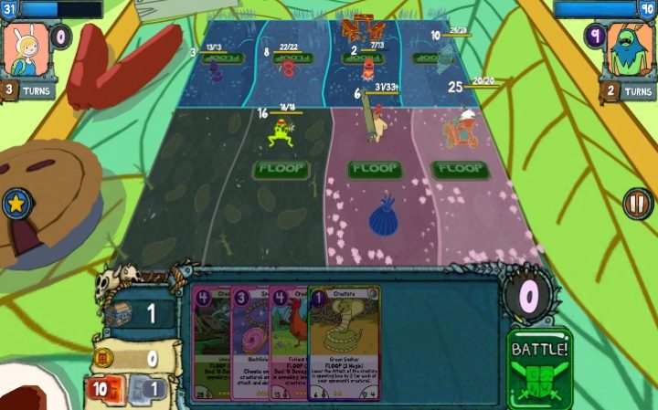 card wars - advanture time