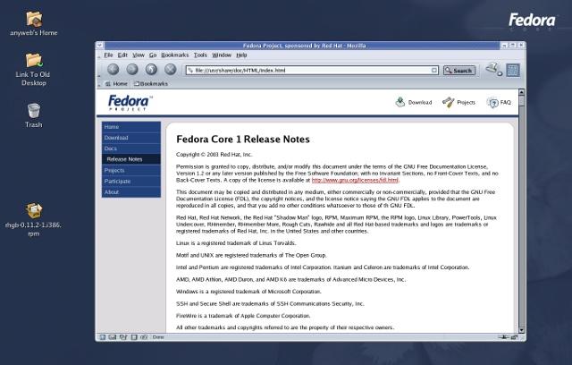 fedora-ubuntu-difference-core