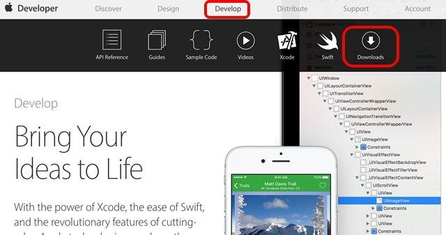 Apple Developer Download betas