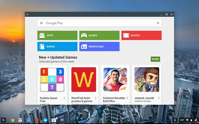 Chromebook Play Store
