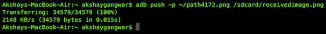 adb push