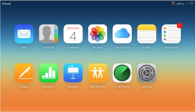 iCloud - bb- iCloud Web