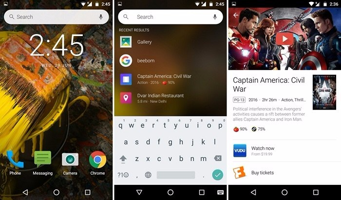 iOS like homescreen search on Android-compressed