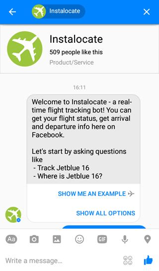 instalocate-facebook-messenger-bot