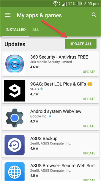 How to Use Old Version of Android Apps And Restrict Auto Update