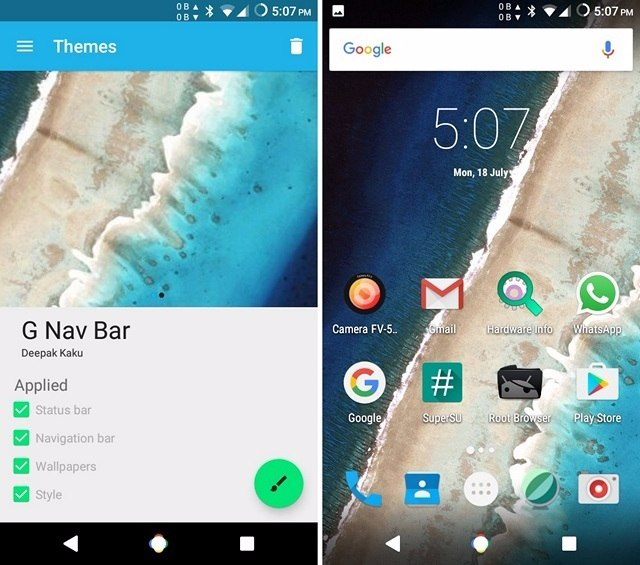 Android N navigation bar-compressed