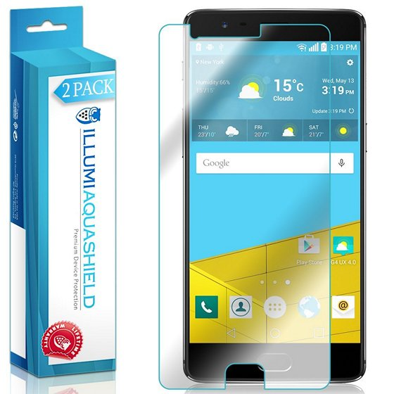 AquaShield Ultra Clear Screen Protector OnePlus 3