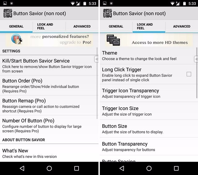 Button Savior non root app